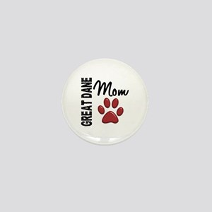 Great Dane Mom 2 Mini Button