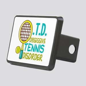 Funny Tennis Rectangular Hitch Cover