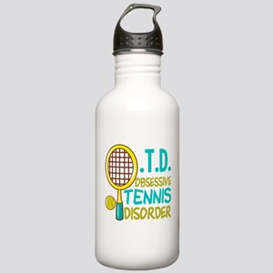 Funny Tennis Stainless Water Bottle 1.0L