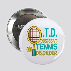 "Funny Tennis 2.25"" Button"