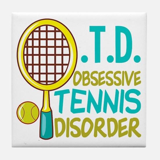Funny Tennis Tile Coaster