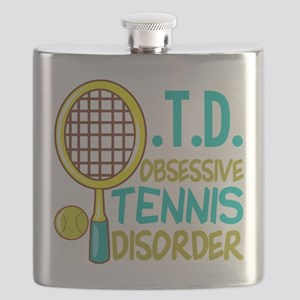 Funny Tennis Flask