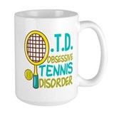 Tennis Large Mugs (15 oz)