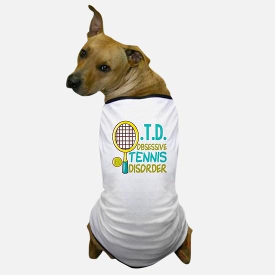 Funny Tennis Dog T-Shirt