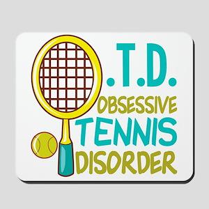 Funny Tennis Mousepad