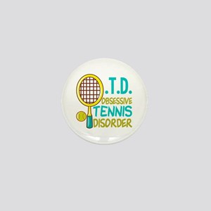 Funny Tennis Mini Button