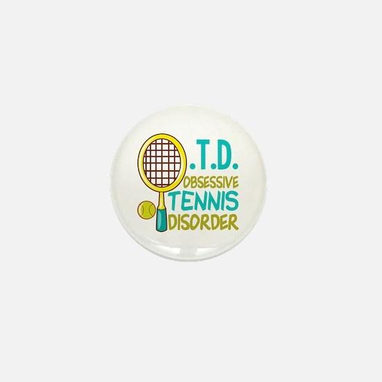 Funny Tennis Mini Button