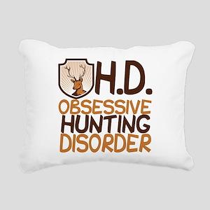 Funny Hunting Rectangular Canvas Pillow