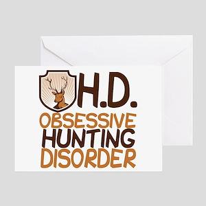 Funny Hunting Greeting Card