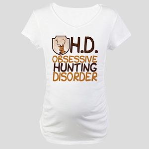 Funny Hunting Maternity T-Shirt