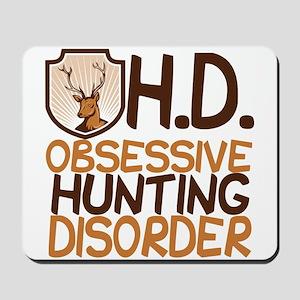 Funny Hunting Mousepad