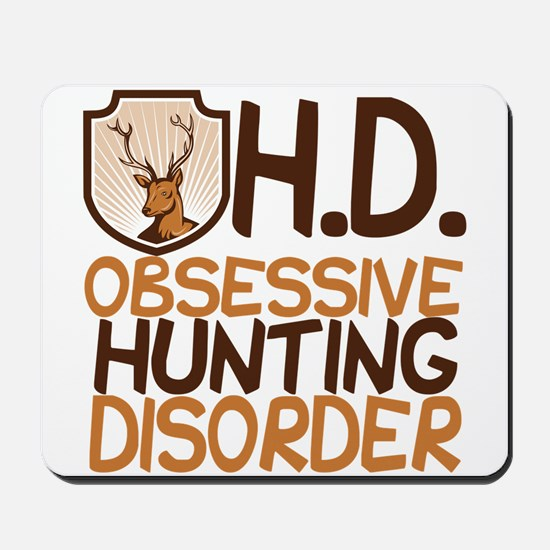 Funny Hunting Mousepad