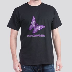 FIBROMYALGIA PURPLE BUTTERFLY T-Shirt