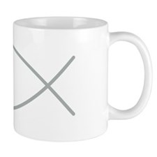 Gray Christian Faith Fish Mug