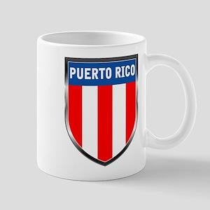 Puerto Rico Shield Mug