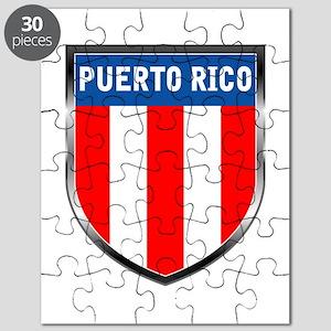 Puerto Rico Shield Puzzle