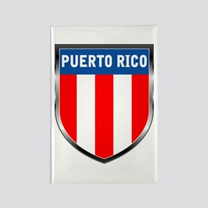 Puerto Rico Shield Rectangle Magnet