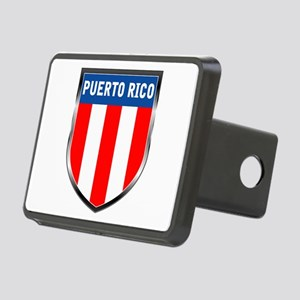 Puerto Rico Shield Rectangular Hitch Cover