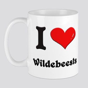 I love wildebeests  Mug