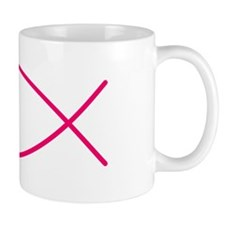 Fuschia Christian Faith Fish Mug
