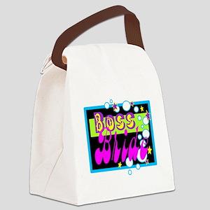Boss Bride! Canvas Lunch Bag