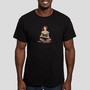 Red Head Waitress Pin Up Girl T-Shirt