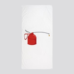 OIL CAN Beach Towel