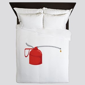 OIL CAN Queen Duvet