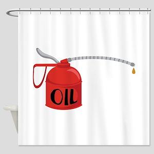 OIL Shower Curtain