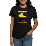 Colombia es pasion Women's Dark T-Shirt