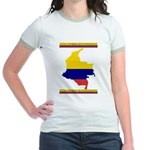 Colombia es pasion Jr. Ringer T-Shirt