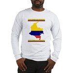 Colombia es pasion Long Sleeve T-Shirt
