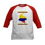 Colombia es pasion Kids Baseball Jersey
