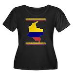Colombia es pasion Women's Plus Size Scoop Neck Da