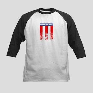 Boricua Vertical Flag Baseball Jersey