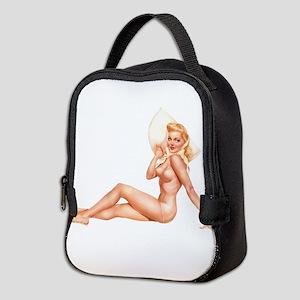 Summer Swimsuit Blonde Pin Up Girl Neoprene Lunch