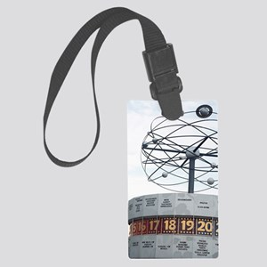 Details of the World Time Clock, Large Luggage Tag