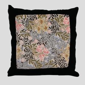 William Morris Bower Throw Pillow
