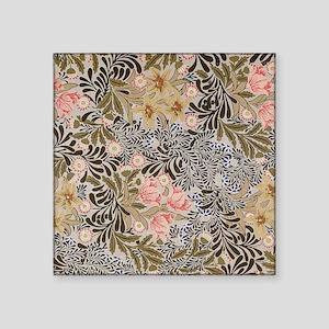 """William Morris Bower Square Sticker 3"""" x 3"""""""