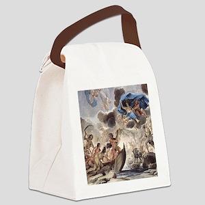 Greek Mythology Canvas Lunch Bag