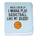 Basketball like my daddy Blanket