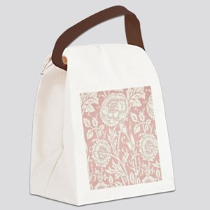 William Morris Pink and Rose Canvas Lunch Bag