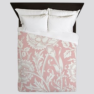 William Morris Pink and Rose Queen Duvet