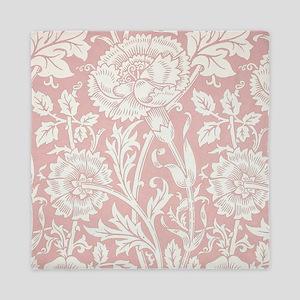 William Morris Pink and Rose Queen Duvet