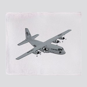 C-130 Throw Blanket