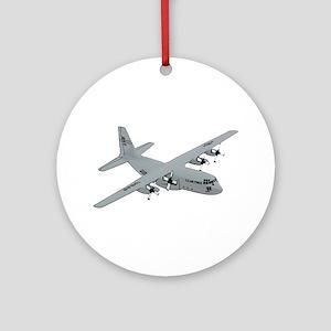 C-130 Ornament (Round)