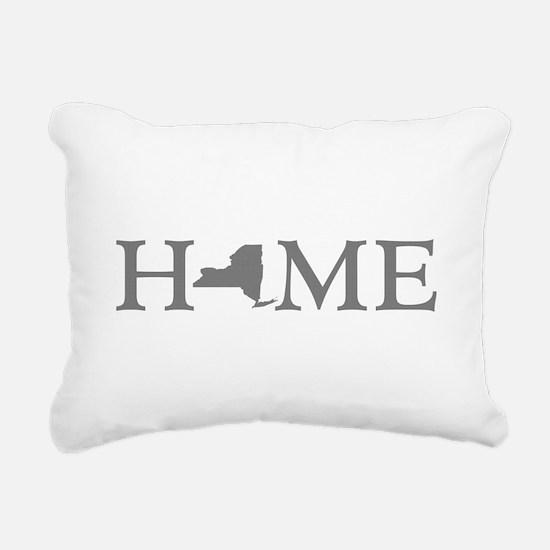 New York Home Rectangular Canvas Pillow