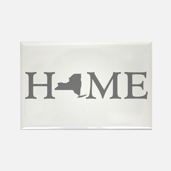 New York Home Rectangle Magnet