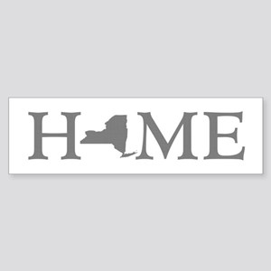 New York Home Sticker (Bumper)