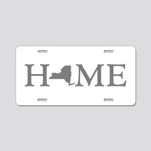 New York Home Aluminum License Plate